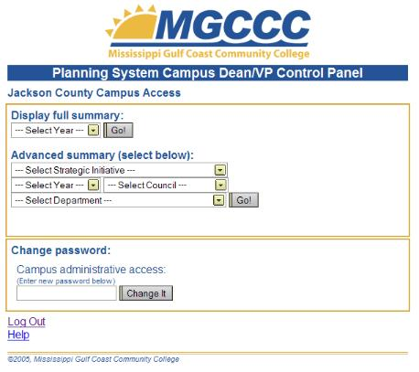 Campus Dashboard